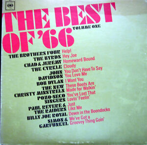 LP / THE BEST OF 1966 / BYRDS / BOB DYLAN / THE BROTHERS FOUR / CBS / RAR /