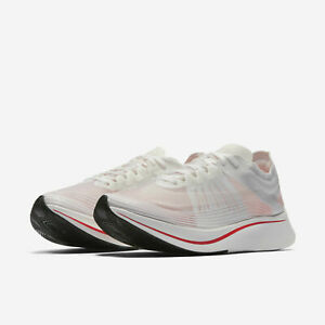 7c9aa53b2b55 Mens Nike Zoom Fly SP AJ9282-106 White Sail Size 15 884498067383