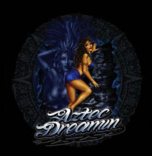 "/""Aztec Dream/"" Beautiful Latina Girls Mexican Pride Urban Style Art Poster"