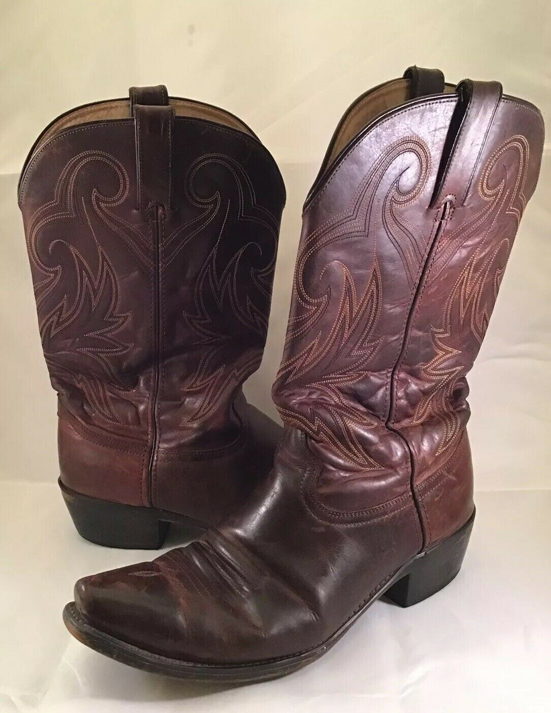 Durango Cowboy stivali Heel Snip Toe Sz 10.5 D