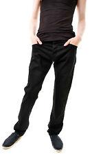 Lois Men's Authentic New Denim Bolt Exter Jeans Black W38 L32 RRP £72 BCF66