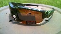 Maxx Hd Sunglasses Roughrider 1 Polarized Green Camo Brown Lens Golf Tr90 Hdp