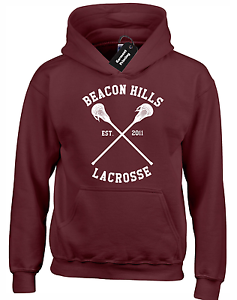 BEACON HILLS LACROSSE KIDS CHILDRENS HOODY TEEN WOLF LAHEY STILINSKI VAMPIRES