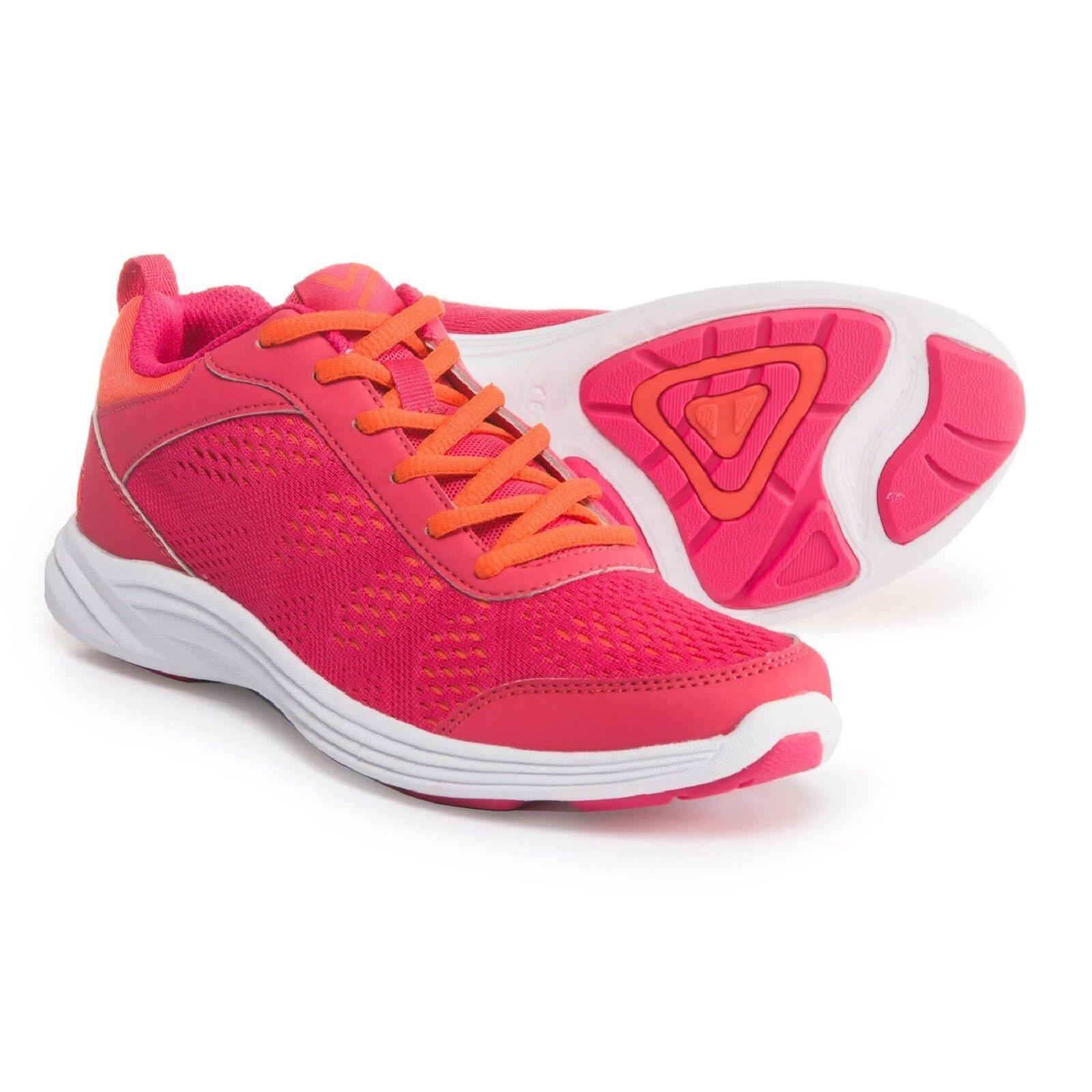 Vionic Damas ágil Azafrán Con Cordones Para Caminar Zapatos Zapatos Zapatos Berry Talla 8.5 de Ancho Nuevo en Caja  80% de descuento