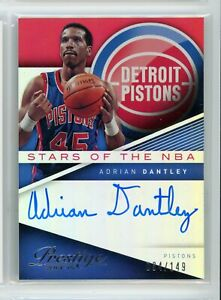 2014-15-Adrian-Dantley-34-149-Auto-Panini-Prestige-Autographs-Autographs