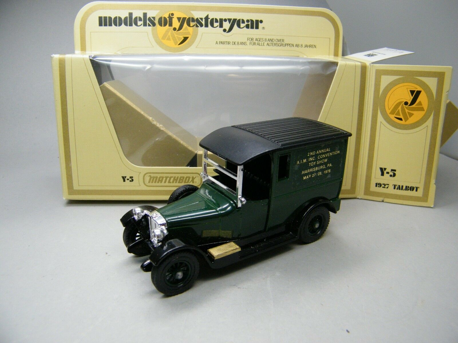 Matchbox MOY c2 y-5 aim Club USA RARE OLD c2 from Collection Boxed Pictures k06