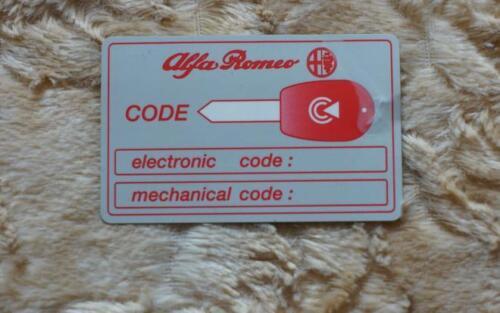 Alfa Romeo MITO Radiocomando Telecomando Chiave 3 tasti 433 Mhz batteria CR2032