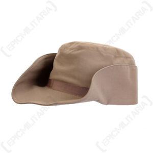 Image is loading Original-Belgian-Army-Ladies-Hat-Khaki-Surplus-Vintage- 89afa7b665c