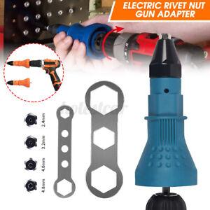 Electric-Rivet-Nut-Gun-Adaptor-Insert-Cordless-Power-Drill-Professional