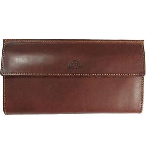 Ladies Leather Purse Tony Perotti Italian Leather Red TP-2966