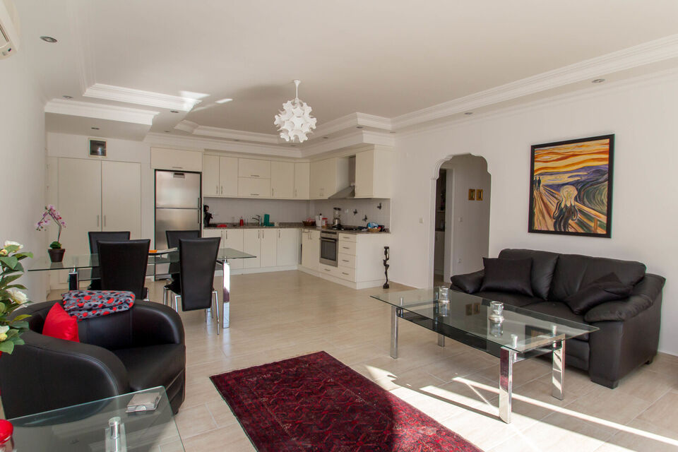 Lejlighed i Oba, Alanya, 2+1, luksus lejlighed.