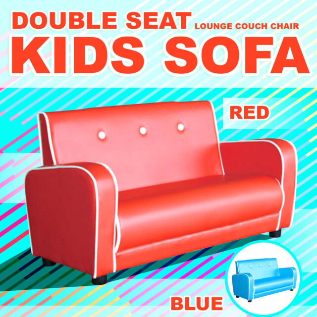 Brilliant Kids Toddlers Sofa Lounge Couch Chair Double Seat Brand New Uwap Interior Chair Design Uwaporg