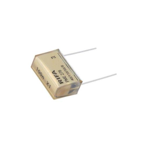 papier X1 100nF 440VAC Pitch 25.4 mm ± 20/% THT Kemet PME278RE6100MR30 Condensateur