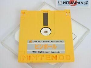 PINBALL-OTHELLO-Nintendo-Famicom-Disk-Only-Rewriting-0982-Japan-Game-dk