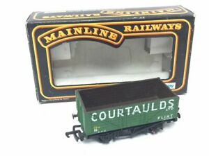 Mainline-37-151-OO-Gauge-7-Plank-Wagon-Courtaulds