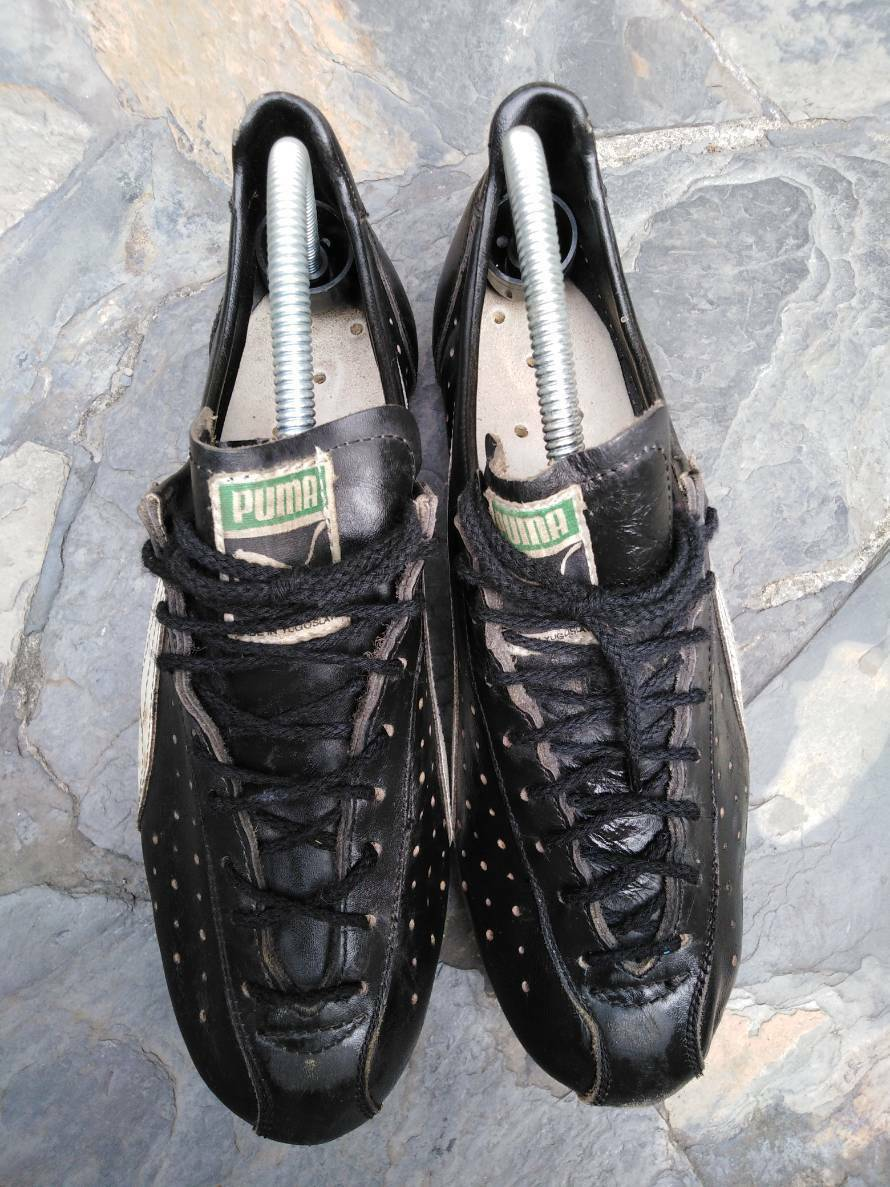 Vintage PUMA cycling  shoes Yugosvavia size 8  shop makes buying and selling