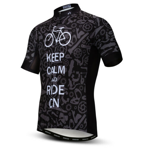 Men Team Pro Cycling Jersey Short Sleeve Bicycle Lycra Clothing Sport Road Bike