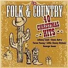 Various Artists - Folk & Country (40 Christmas Hits, 2013)