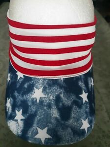 aa08191acc5 American Flag Sun Visor BaseBall Hat Cap. Unisex. One Size Fits Most ...