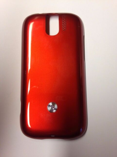 OEM NEW RED HTC Back Cover Battery Door FOR MYTOUCH 3G SLIDE T MOBILE