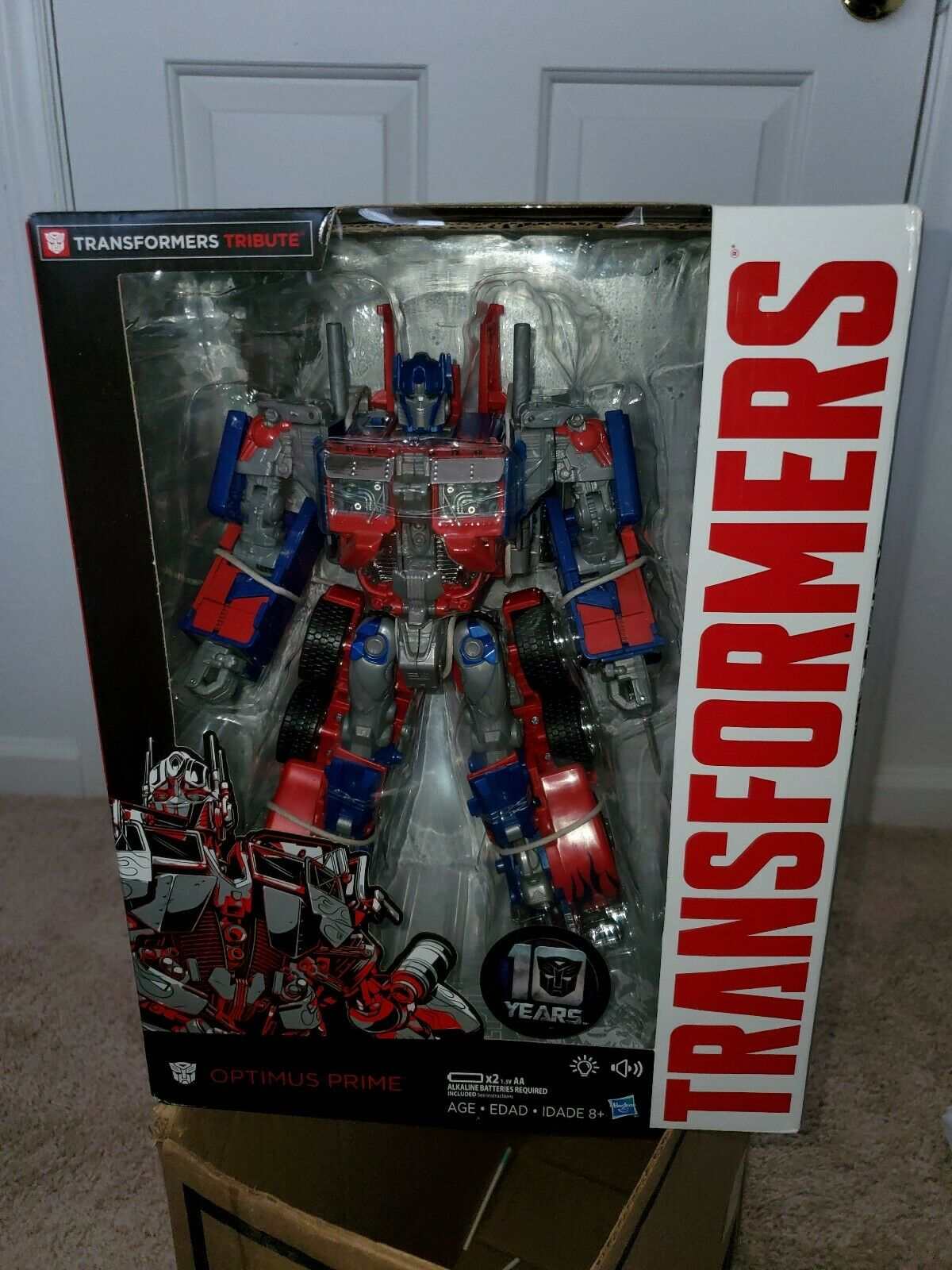 Transformers Tribute Optimus Prime Live Action Movie 1