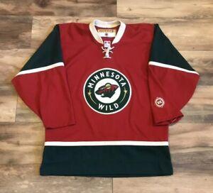 pretty nice 73e17 ac093 Details about Minnesota Wild Vintage Original Koho Alternate 3rd NHL Hockey  Jersey Mens Medium