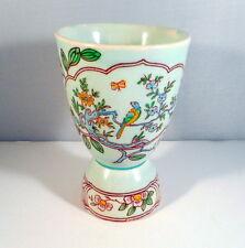 Vintage Double Egg Cup Adams England Singapore Bird