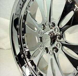 4 Wheels 20x10 Chevy 1500 Forged Reaper Wheels Ebay