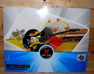 4x-Vivanco-BAZOO-Guitar-Metalskin-Laptop-Notebook-Sticker-17-034-PC-Bild-Deko-Folie