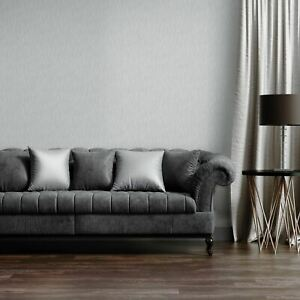 Kate-Brillant-Metallique-Luisant-Texture-Papier-Peint-Argent-Muriva-114909