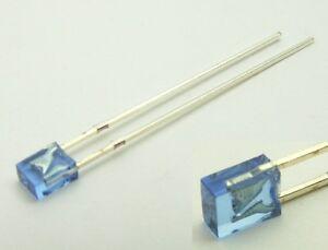 S725-20-Stueck-LED-flach-rechteckig-2x3mm-blau-blue-LEDs-2x3x4mm