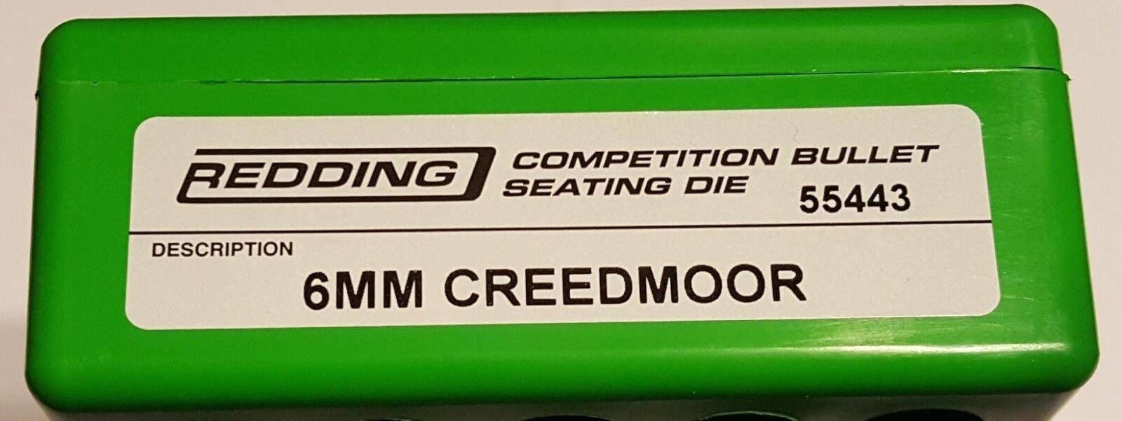 55443 rojoDING competencia asientos Die - 6MM Creedmoor-Nuevo-Envío Gratis