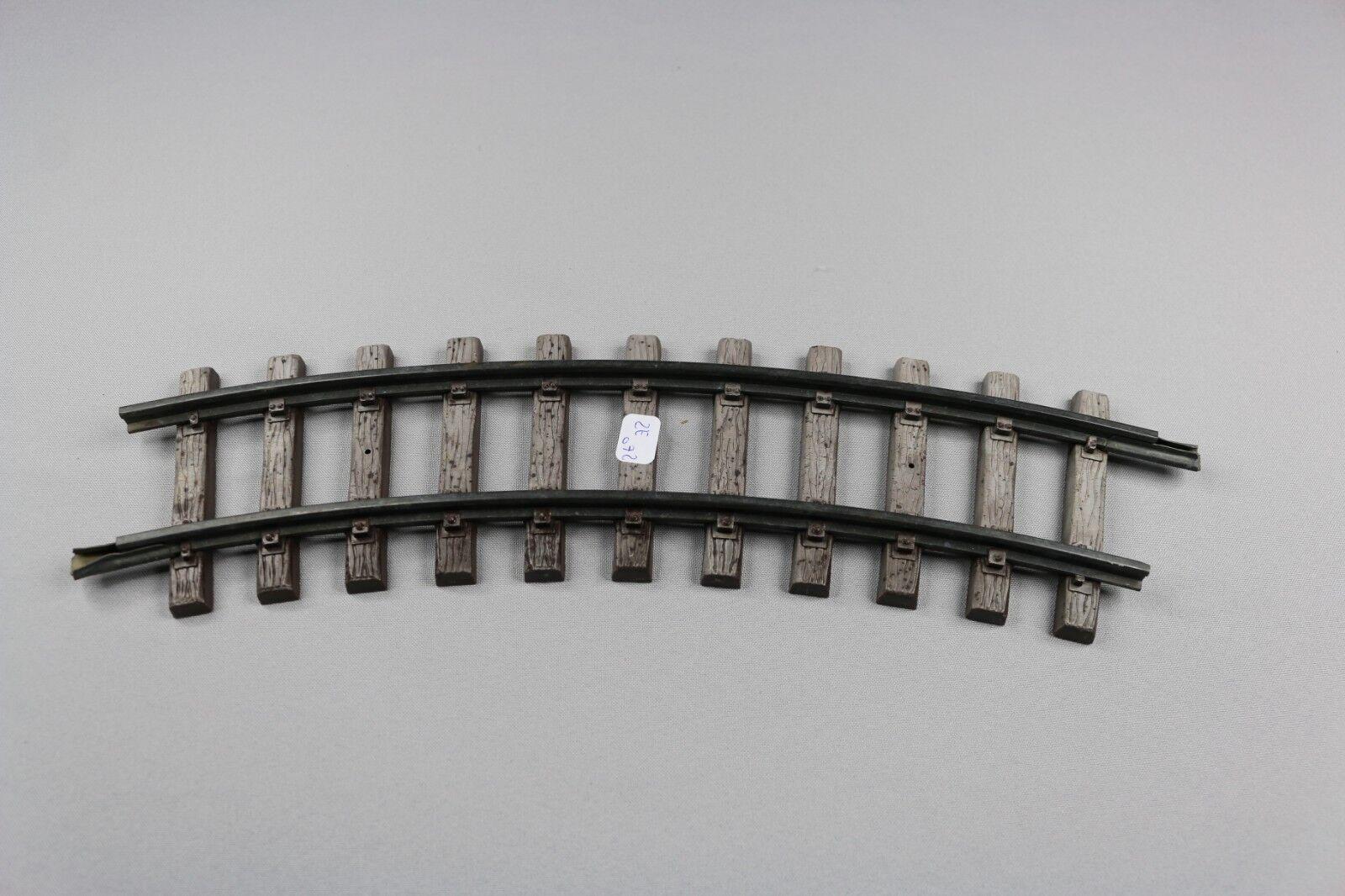 LGB LEHMANN Piste G 1100 Courbé rails R = 600 mm