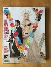 V magazine #67 Fall 2010 Marc Jacobs and Lady Gaga Mario Sorrenti Natasha Poly