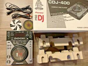 Pioneer CDJ Contrôleur numérique CDJ-400 CD Deck DJ équipement utilisé Coffret Japon