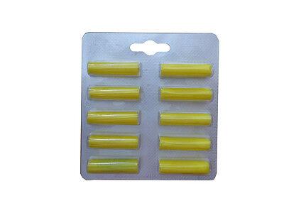 10 Duftstäbe Luftfrischer Zitrus geeignet f. Filterbeutel von VORWERK u.a Sauger