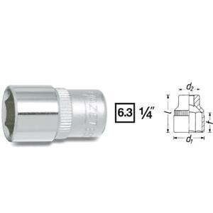 Hazet-6kt-Socket-Wrench-Insert-L-25mm-S-4mm-850-4