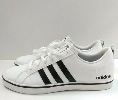 NWT Men's ADIDAS NEO VS PACE SHOES AW4594 White Black Size 12 New w/ Tags   eBay