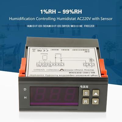 Feuchtigkeitsregler Feuchteregler Hygrometer Controller MH13001AC 10A//220V