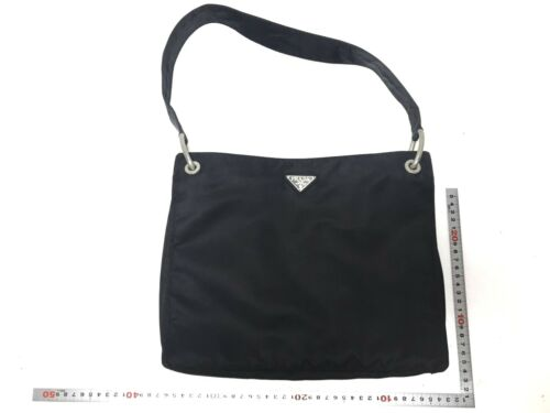 PRADA nylon shoulder bag used (5049