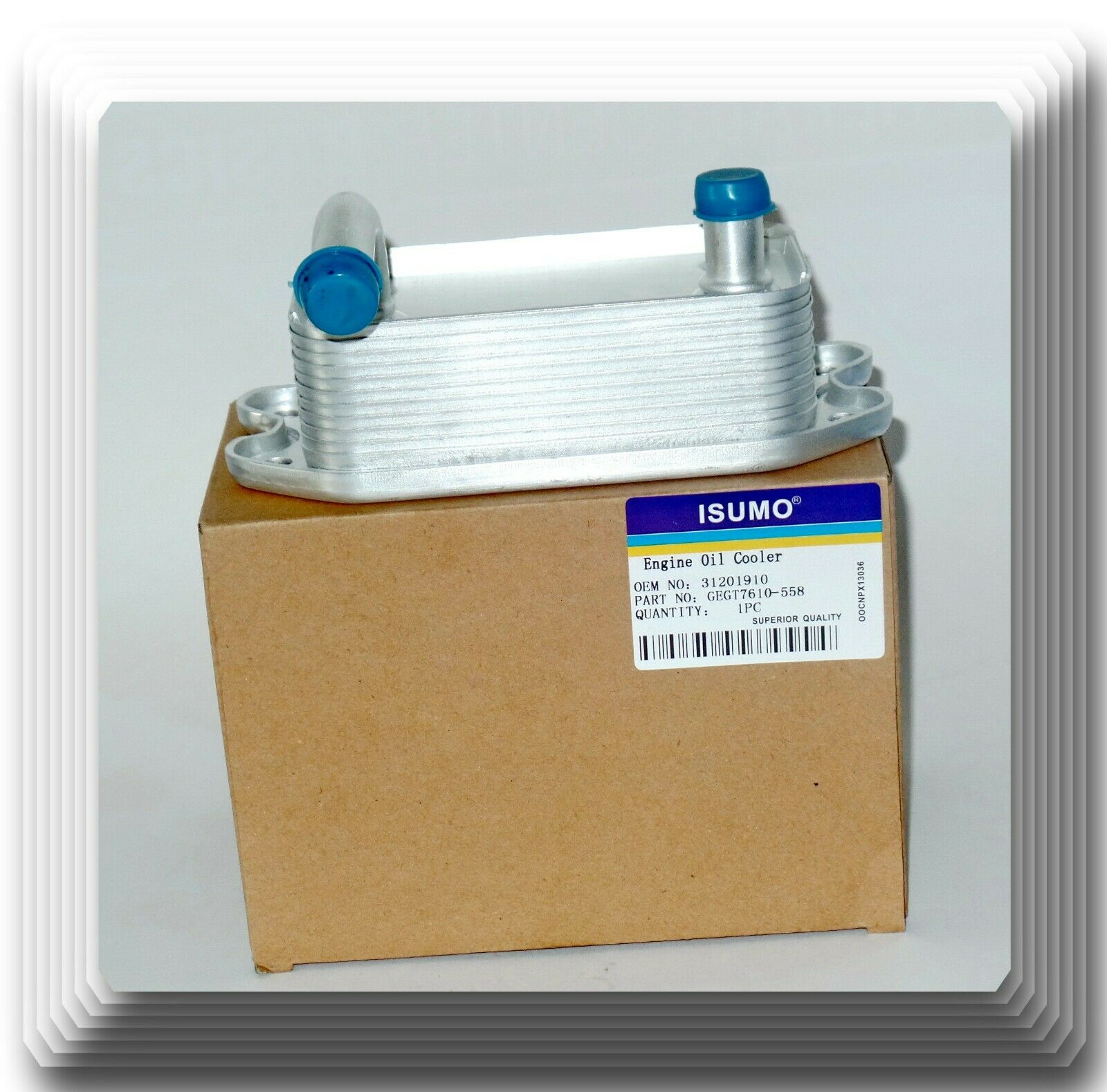 8677974 Engine Oil Cooler For 1999-2009 Volvo S60 S70 S80 V70 XC90 9497225