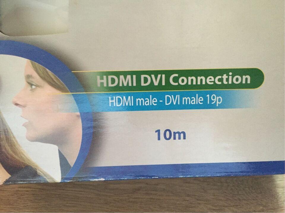 HDMI-adapter, HQ, 10 m.