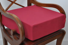 Dining Chair Armchair Booster Foam Cushion 5 Inch Thick Seat Pads In Red