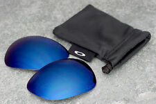 Original Oakley New Crosshair Polarized Ice Iridium Blue Lenses - Genuine + Bag