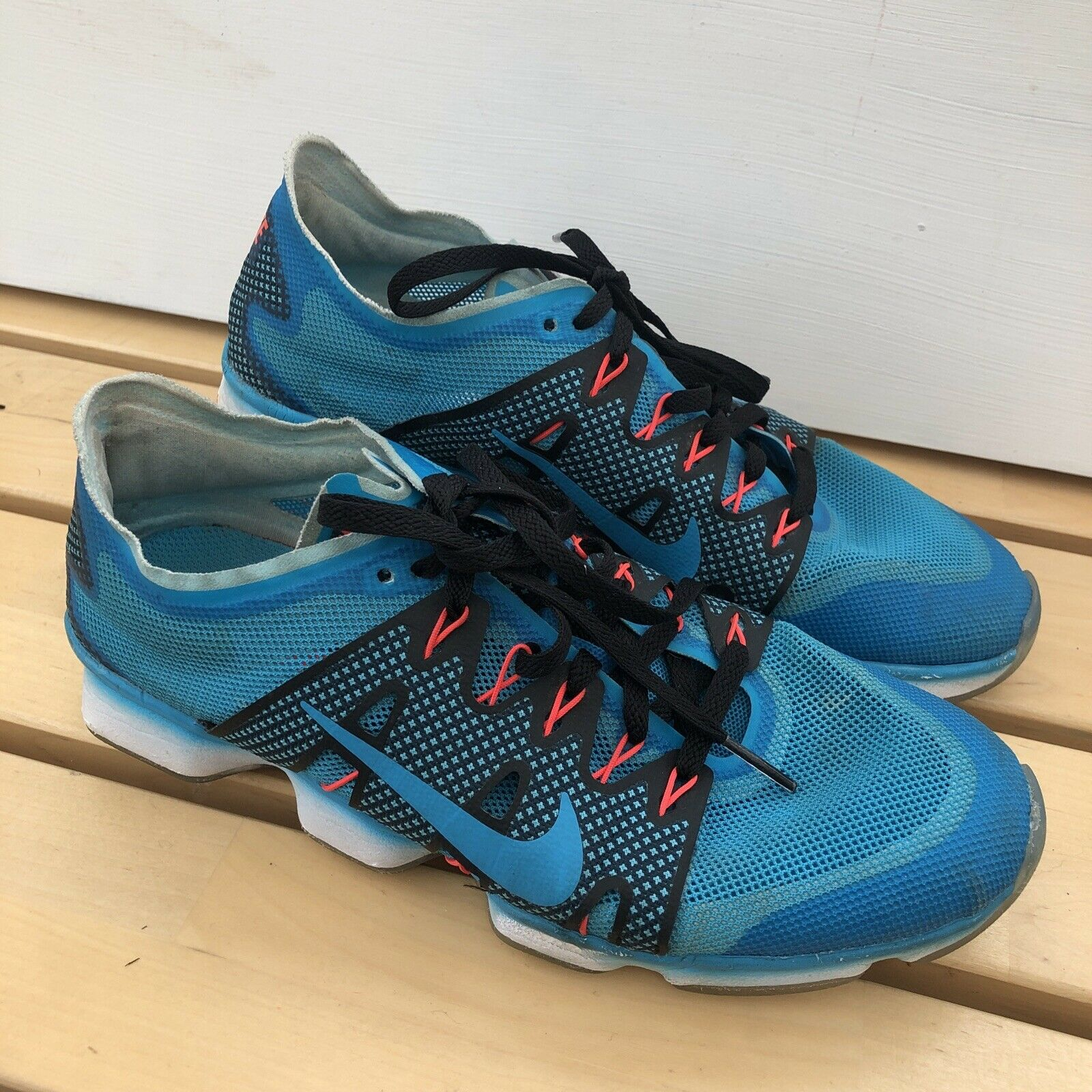 Nike Air Zoom Fit Agility 2 Femme Baskets/Sneakers turquoise Maille Taille UK 5