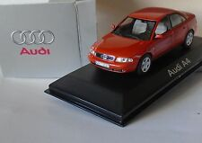 Audi A4 Metallic Burnt Orange / Copper 1/43 Minichamps in Silver Box