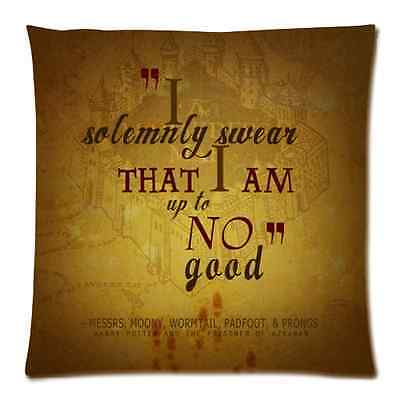 Harry Potter Quote Pillow Case Cushion Case Cover 18 x 18 Inch Two Sides