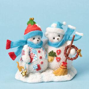 Cherished Teddies #4023741 SARI and CHRYSTA Friendship NEW in Box