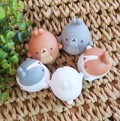 Molang Mini Figure Friends 5EA Set Collectible Toy Doll Minifigures Cute Rabbit