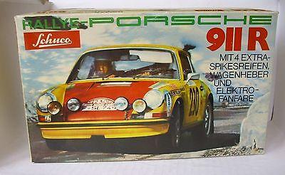 Spielzeug Aktiv Repro Box Schuco Porsche 911 R Nr.356218 QualitäTswaren Blechspielzeug